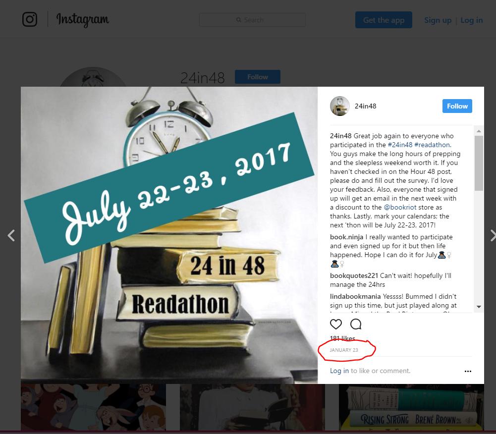 Instagram capture