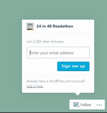 subscribe button screen capture