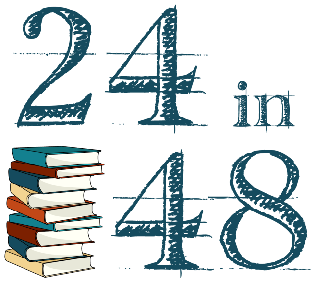 I #AmReading in #24in48 Read-a-thon
